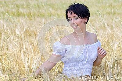 Natural beautiful girl