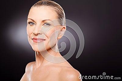 Natural senior beauty