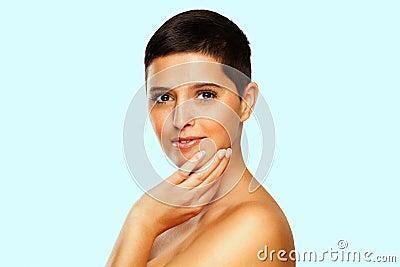Natural Beauty - Woman With Short Hair