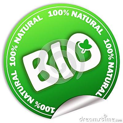Natural bio sticker