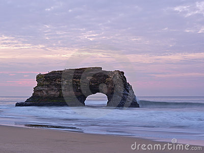 Natural Bridges At Sunrise