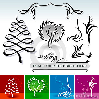 Natural Calligraphic Designs And Decoration