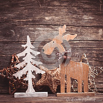 Free Natural Christmas Decor Royalty Free Stock Image - 35578956