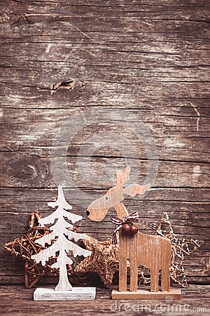 Free Natural Christmas Decor Royalty Free Stock Photos - 46125928