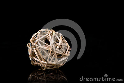Natural decoration ball