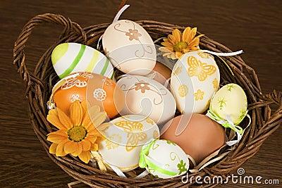 Natural easter egg variation.