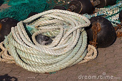 Natural fibre rope