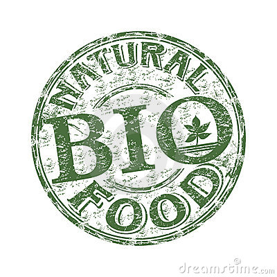 Natural food rubber stamp
