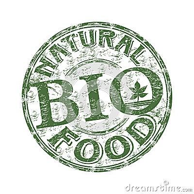 Natural food rubber stamp