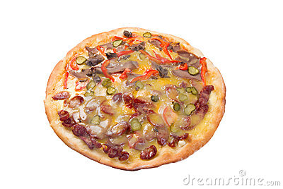 Natural form foods. Fast food Pizza.