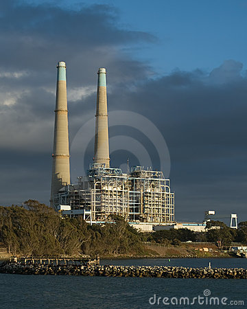 Free Natural Gas Power Plant Stock Photo - 6866990