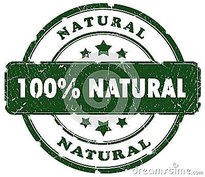Natural Grunge Stamp Royalty-Free Stock Photo ...
