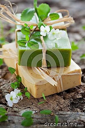 Free Natural Handmade Soap Stock Photo - 18523360