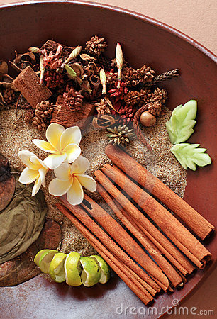 Free Natural Herbal Aromatherapy Stock Photography - 5389812