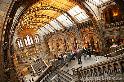 The Natural History Museum Editorial Photo