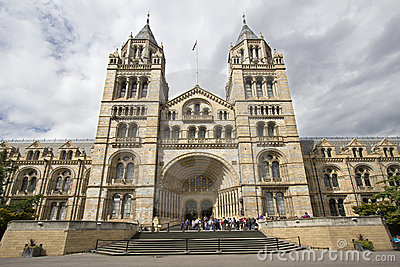 Natural History Museum London Editorial Image