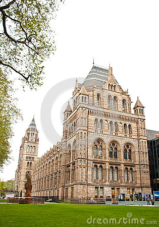 Natural History Museum in London Editorial Stock Photo