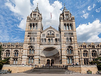 Natural History Museum London England