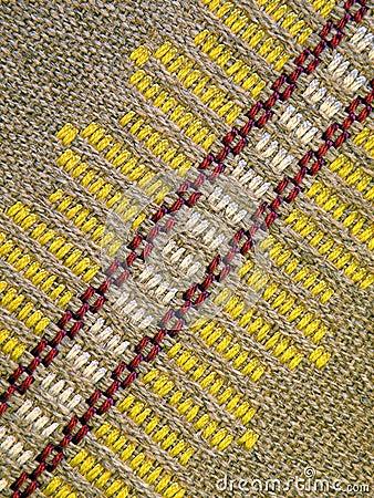 Natural linen fabric