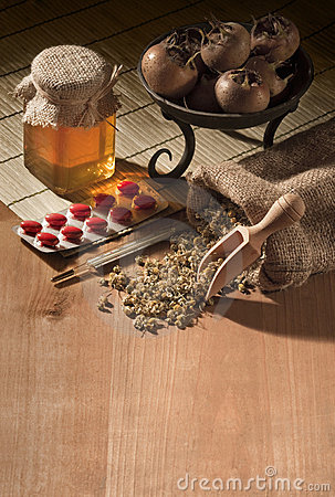 Natural medicines with pills