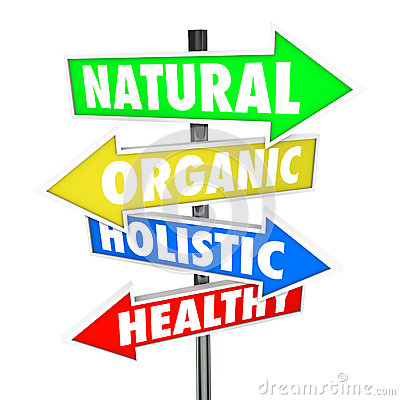 Free Natural Organic Holistic Healthy Eating Food Nutrition Arrow Signs Royalty Free Stock Photography - 40509837