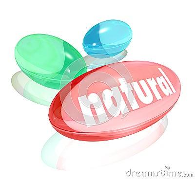 Natural Organic Supplements Vitamins Healthy Life Improvement