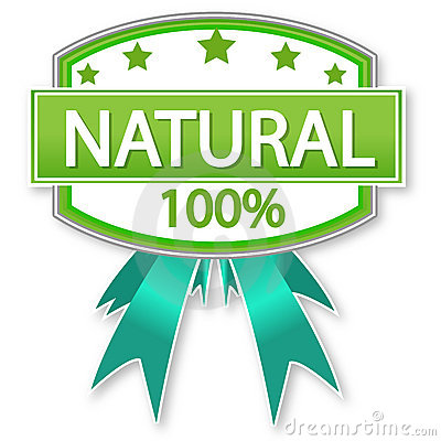 Natural product or food label