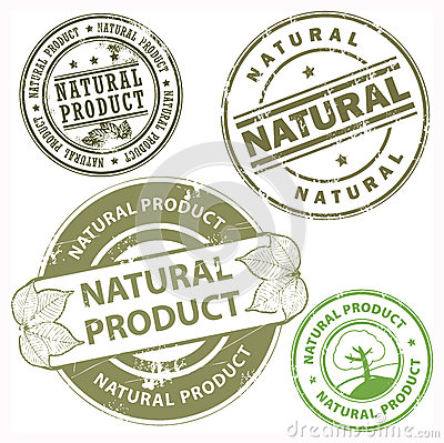 Natural product stamps