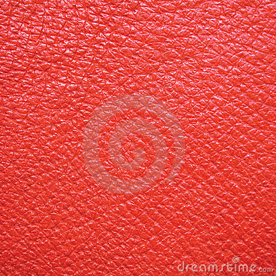 Natural Red Leather Macro Background