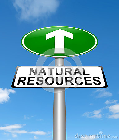 Natural resources concept.