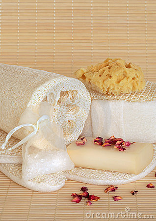 Free Natural Spa Beauty Products Stock Images - 7681424