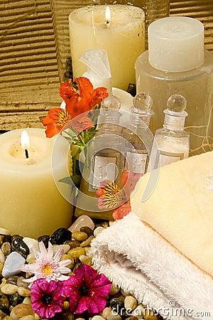 Natural spa products