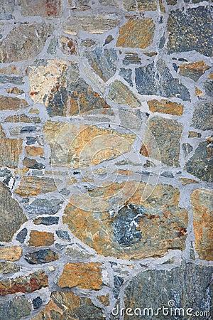Natural stone paving