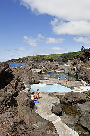 Free Natural Swimming Pool In Faial Stock Photo - 14742520