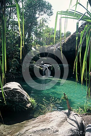 Natural Swimming Pool,Madagascar