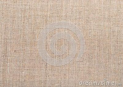 Natural vintage linen burlap fabric texture