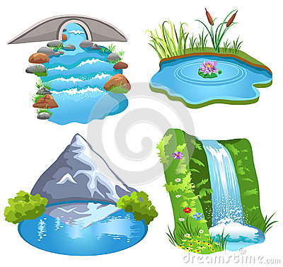 Natural Water Stock Image Image 32487621