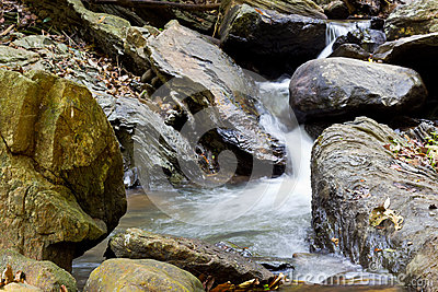Natural Waterfall Area