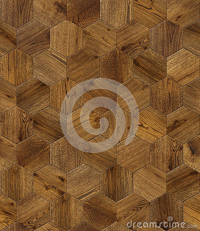 Free Natural Wooden Background Honeycomb, Grunge Parquet Flooring Design Seamless Texture Royalty Free Stock Images - 74459149