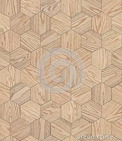 Free Natural Wooden Background Honeycomb, Grunge Parquet Flooring Design Seamless Texture Stock Photos - 74485653