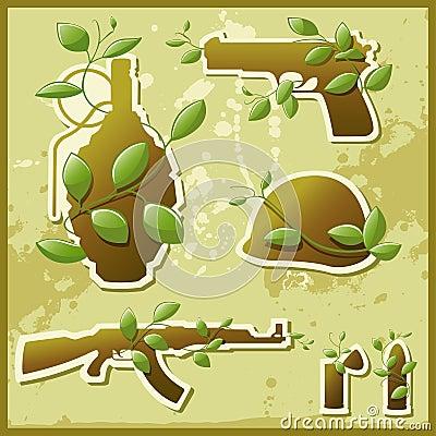 Naturaleza contra guerra