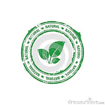Naturalny ekologia znaczek