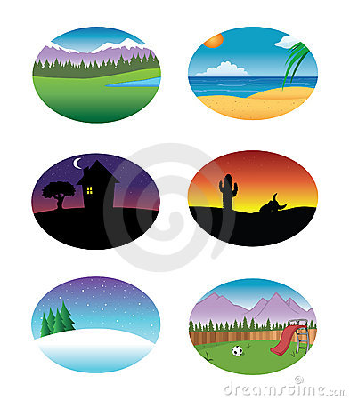 Free Nature Backgrounds Collection Royalty Free Stock Photos - 13040198