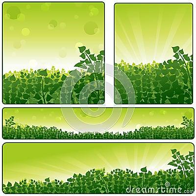 Nature Banner Set