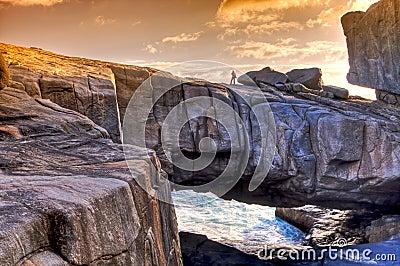 Nature Bridge,Western Australia.