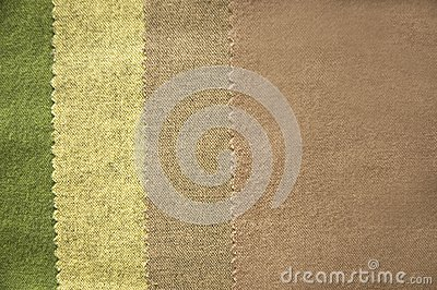 Nature Color Fabric Set Stock Images - Image: 21436184