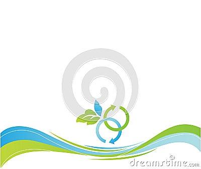 Nature eco background