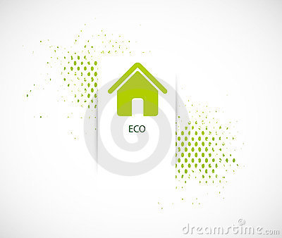 Nature eco horizontal background