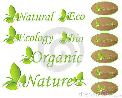Nature and ecology labels