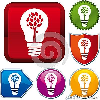 Nature energy icon